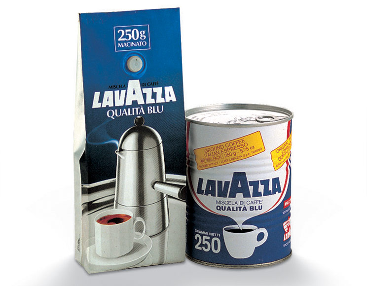 Packaging lavazza